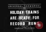 Image of toy train New York United States USA, 1936, second 1 stock footage video 65675073145