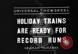 Image of toy train New York United States USA, 1936, second 2 stock footage video 65675073145