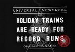 Image of toy train New York United States USA, 1936, second 3 stock footage video 65675073145