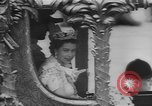 Image of Queen Elizabeth 10th anniversary United Kingdom, 1963, second 33 stock footage video 65675073170