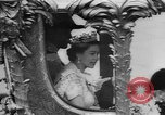 Image of Queen Elizabeth 10th anniversary United Kingdom, 1963, second 35 stock footage video 65675073170