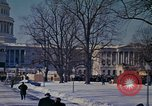 Image of presidential inauguration Washington DC USA, 1961, second 55 stock footage video 65675073211