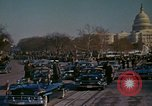 Image of presidential inauguration Washington DC USA, 1961, second 53 stock footage video 65675073213