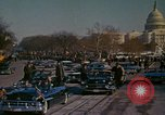 Image of presidential inauguration Washington DC USA, 1961, second 55 stock footage video 65675073213
