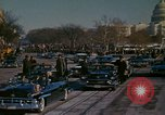 Image of presidential inauguration Washington DC USA, 1961, second 58 stock footage video 65675073213