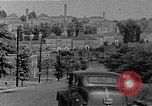 Image of apartment developments and rush hour Washington DC USA, 1949, second 2 stock footage video 65675073230