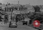 Image of apartment developments and rush hour Washington DC USA, 1949, second 5 stock footage video 65675073230
