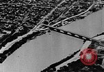 Image of WhiteHurst Freeway and temporary mall buildings Washington DC USA, 1950, second 47 stock footage video 65675073232