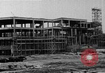 Image of school construction and suburban homes Washington DC USA, 1950, second 6 stock footage video 65675073233