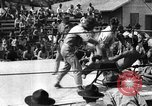 Image of boxing match Haiti West Indies, 1925, second 39 stock footage video 65675073273