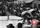 Image of boxing match Haiti West Indies, 1925, second 41 stock footage video 65675073273