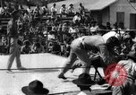 Image of boxing match Haiti West Indies, 1925, second 42 stock footage video 65675073273