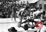 Image of boxing match Haiti West Indies, 1925, second 44 stock footage video 65675073273