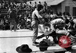 Image of boxing match Haiti West Indies, 1925, second 47 stock footage video 65675073273