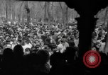 Image of hippies at a Detroit love-in Detroit Michigan USA, 1967, second 4 stock footage video 65675073277