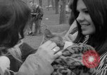 Image of hippies at a Detroit love-in Detroit Michigan USA, 1967, second 6 stock footage video 65675073277