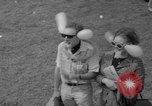 Image of hippies at a Detroit love-in Detroit Michigan USA, 1967, second 12 stock footage video 65675073277