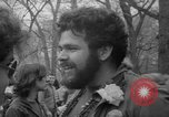 Image of hippies at a Detroit love-in Detroit Michigan USA, 1967, second 14 stock footage video 65675073277