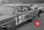 Image of hippies at a Detroit love-in Detroit Michigan USA, 1967, second 18 stock footage video 65675073277