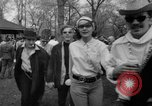 Image of hippies at a Detroit love-in Detroit Michigan USA, 1967, second 30 stock footage video 65675073277