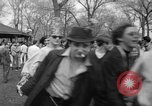 Image of hippies at a Detroit love-in Detroit Michigan USA, 1967, second 31 stock footage video 65675073277