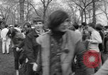 Image of hippies at a Detroit love-in Detroit Michigan USA, 1967, second 33 stock footage video 65675073277