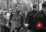 Image of hippies at a Detroit love-in Detroit Michigan USA, 1967, second 34 stock footage video 65675073277