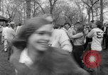 Image of hippies at a Detroit love-in Detroit Michigan USA, 1967, second 35 stock footage video 65675073277