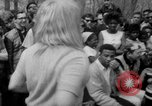 Image of hippies at a Detroit love-in Detroit Michigan USA, 1967, second 36 stock footage video 65675073277