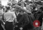 Image of hippies at a Detroit love-in Detroit Michigan USA, 1967, second 38 stock footage video 65675073277