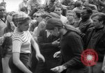 Image of hippies at a Detroit love-in Detroit Michigan USA, 1967, second 39 stock footage video 65675073277