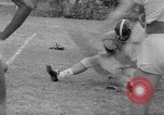 Image of football practice Alabama United States USA, 1967, second 26 stock footage video 65675073283