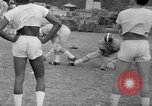 Image of football practice Alabama United States USA, 1967, second 27 stock footage video 65675073283