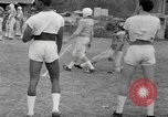 Image of football practice Alabama United States USA, 1967, second 29 stock footage video 65675073283