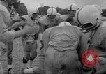 Image of football practice Alabama United States USA, 1967, second 31 stock footage video 65675073283