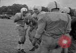 Image of football practice Alabama United States USA, 1967, second 32 stock footage video 65675073283
