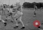 Image of football practice Alabama United States USA, 1967, second 34 stock footage video 65675073283
