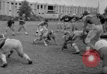 Image of football practice Alabama United States USA, 1967, second 35 stock footage video 65675073283