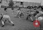 Image of football practice Alabama United States USA, 1967, second 36 stock footage video 65675073283