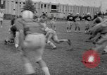 Image of football practice Alabama United States USA, 1967, second 37 stock footage video 65675073283