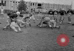 Image of football practice Alabama United States USA, 1967, second 38 stock footage video 65675073283