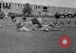 Image of football practice Alabama United States USA, 1967, second 39 stock footage video 65675073283