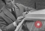 Image of inflatable windshield Paris France, 1967, second 39 stock footage video 65675073291