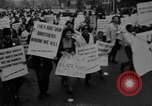 Image of Anti Vietnam War march New York City USA, 1967, second 6 stock footage video 65675073293