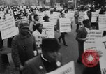 Image of Anti Vietnam War march New York City USA, 1967, second 8 stock footage video 65675073293