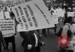 Image of Anti Vietnam War march New York City USA, 1967, second 10 stock footage video 65675073293