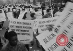 Image of Anti Vietnam War march New York City USA, 1967, second 11 stock footage video 65675073293