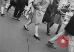 Image of Anti Vietnam War march New York City USA, 1967, second 18 stock footage video 65675073293