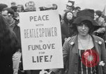 Image of Anti Vietnam War march New York City USA, 1967, second 29 stock footage video 65675073293