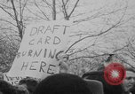 Image of Anti Vietnam War march New York City USA, 1967, second 35 stock footage video 65675073293